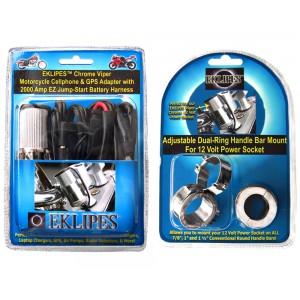 Chrome Viper and Handlebar Mount Bundle Pack