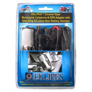 Chrome Viper Motorcycle Cellphone & GPS Adapter