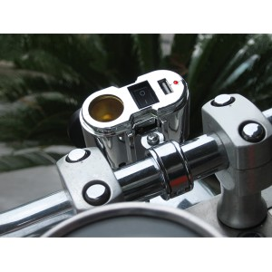 Cobra Ultimate Motorcycle USB Charging System