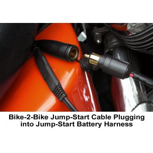 EKLIPES™ Bike-2-Bike Plug-In Universal Battery Jumping Kit