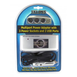 Automotive / Motorcycle Multi-Port Power Adapter