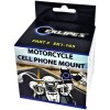 Co-Pilot Cell Phone Mount for Motorcycle / Bicycle Handlebars