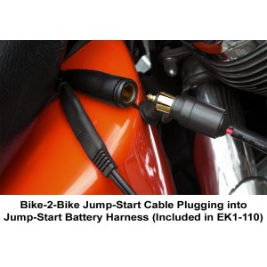 Chrome Cobra & Bike-2-Bike Jr. EZ Plug-In Jump-Start Kit
